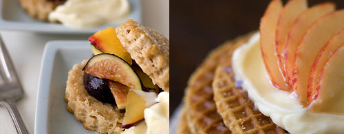 ... , like this Champagne Summer Shortcake and Stroopwafel Tarts