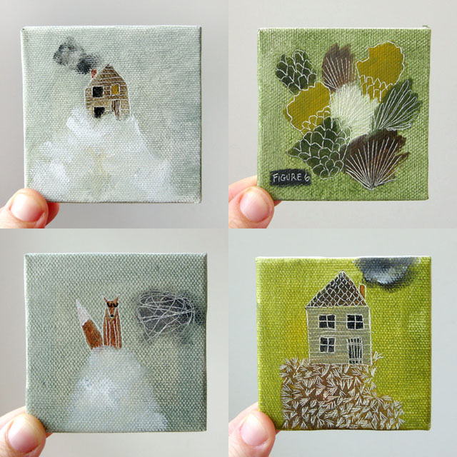 the smallest cute paintings elephantine