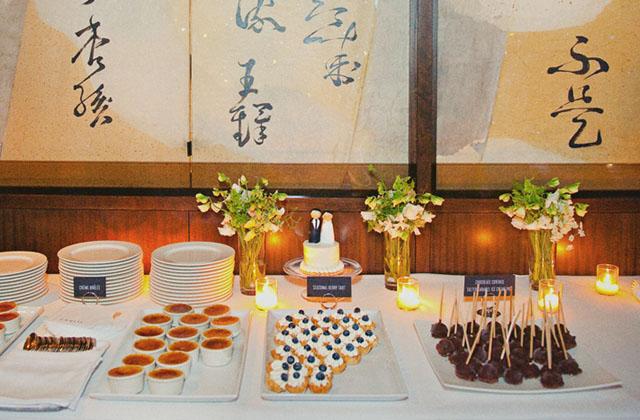 our wedding {part five: dessert + goodnight} - elephantine