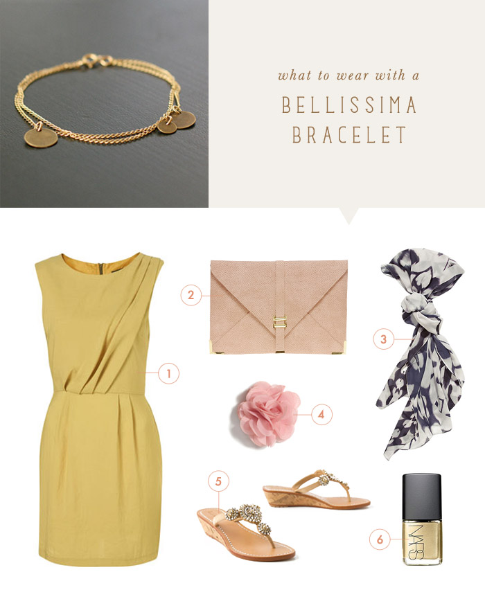 what to wear with a bellissima bracelet