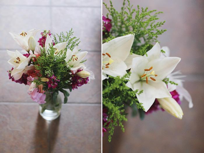farmers market flowers, photographed by Rachel Ball