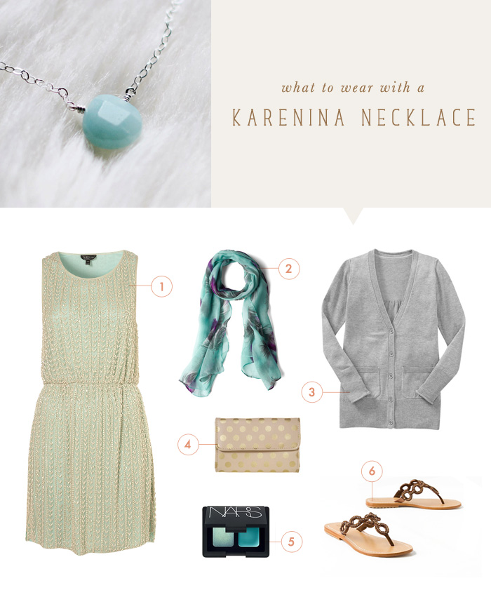 what to wear {karenina necklace}