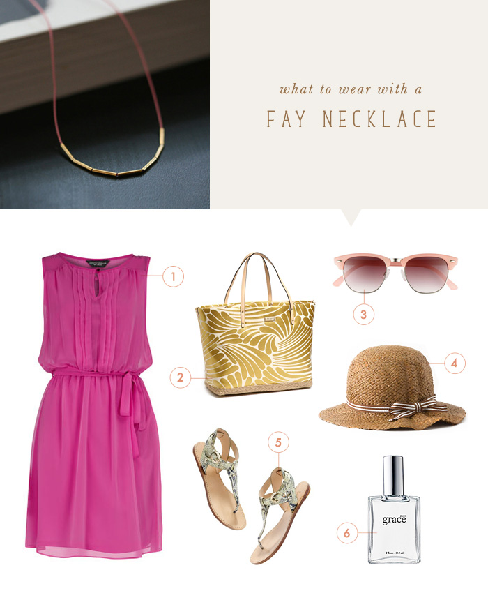 what to wear {fay necklace}