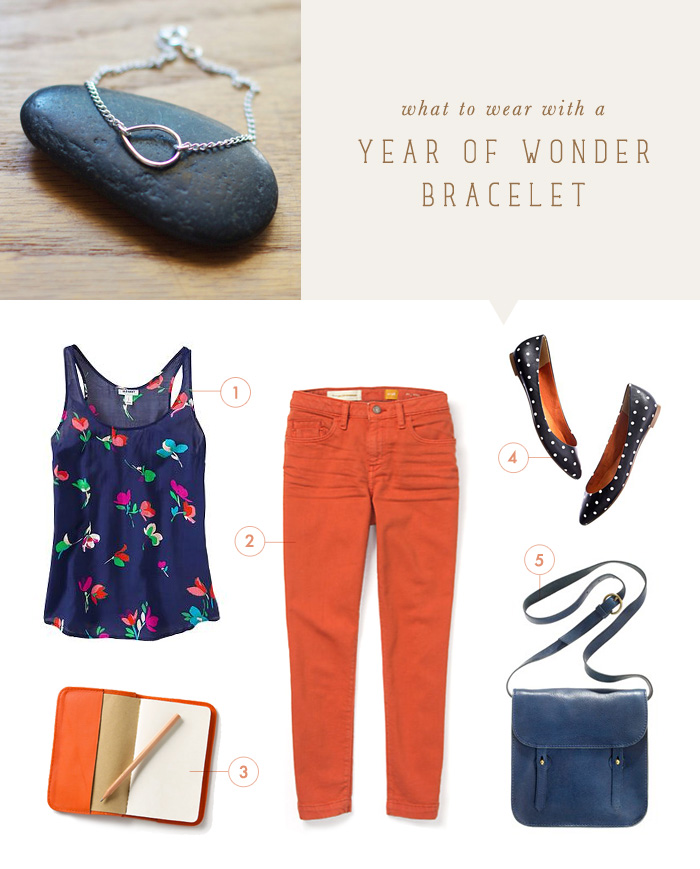 what to wear {year of wonder bracelet}