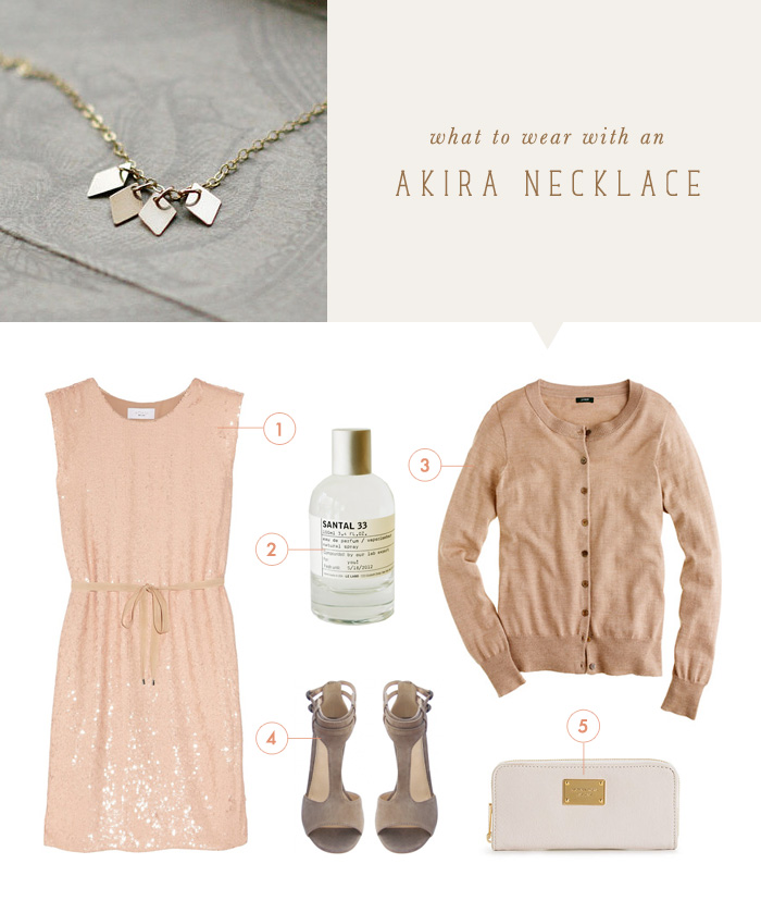 what to wear {akira necklace}