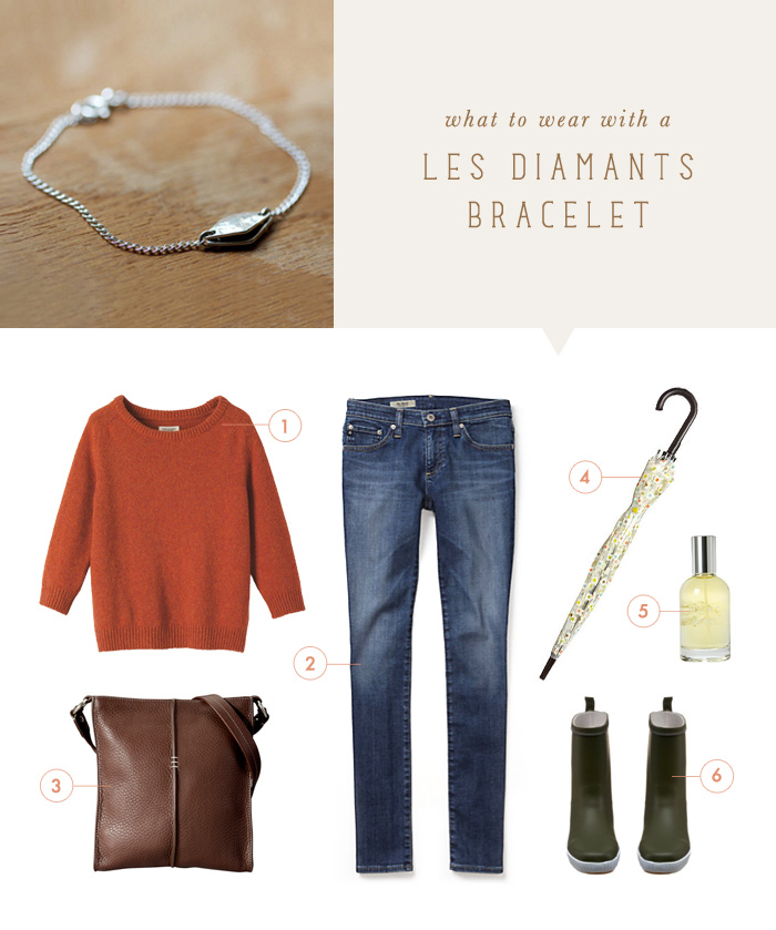 what to wear {les diamants bracelet}