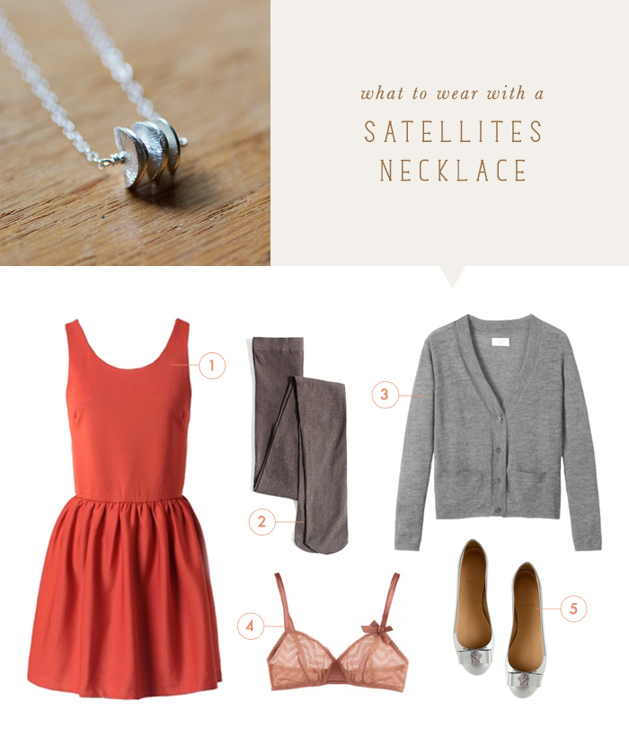 what to wear {satellites necklace}