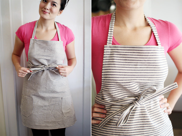 Mignon Kitchen Co. ticking apron