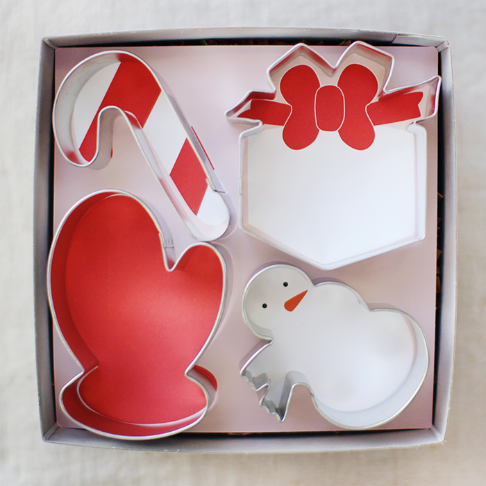 Mignon Kitchen Co. cookie cutter gift box