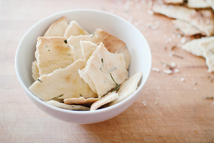 Elephantine: Easy Rosemary Crackers
