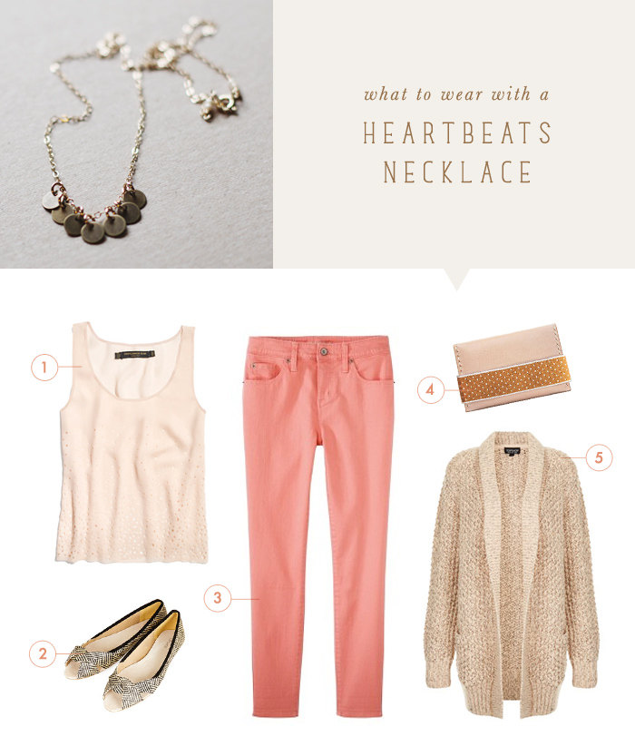 what to wear {heartbeats necklace}