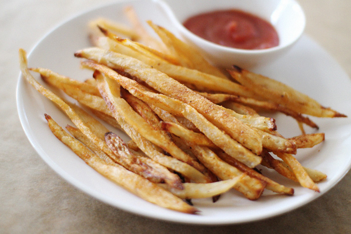 Elephantine: homemade baked french fries