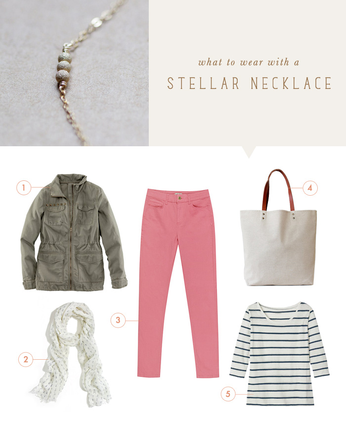 Elephantine: what to wear {stellar necklace}