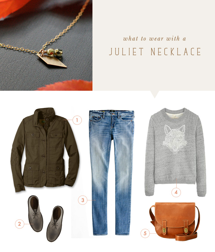 what to wear {juliet necklace}