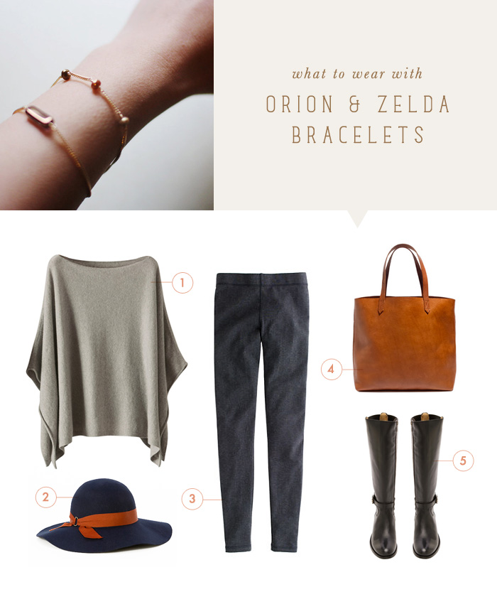 what to wear {orion & zelda bracelets}