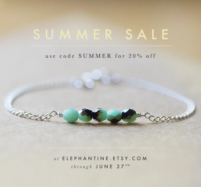 Elephantine: a summer sale