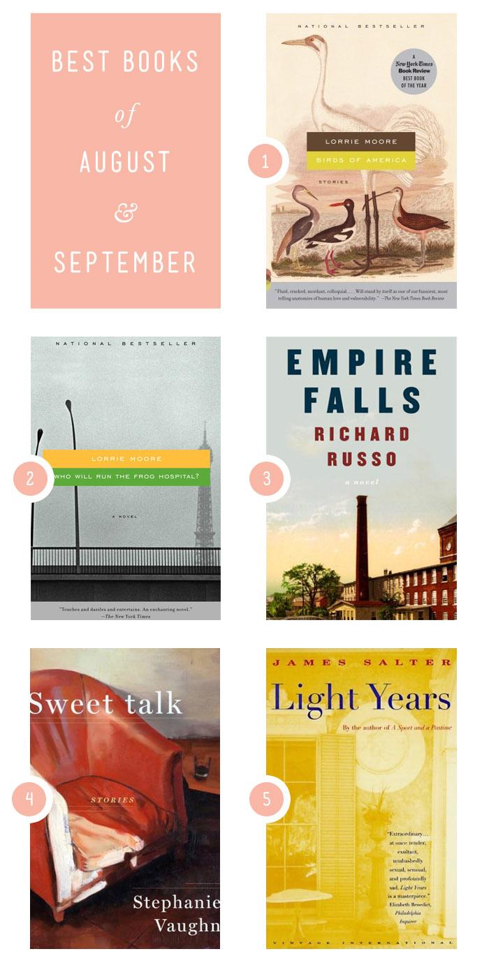 Elephantine: best books of august & september