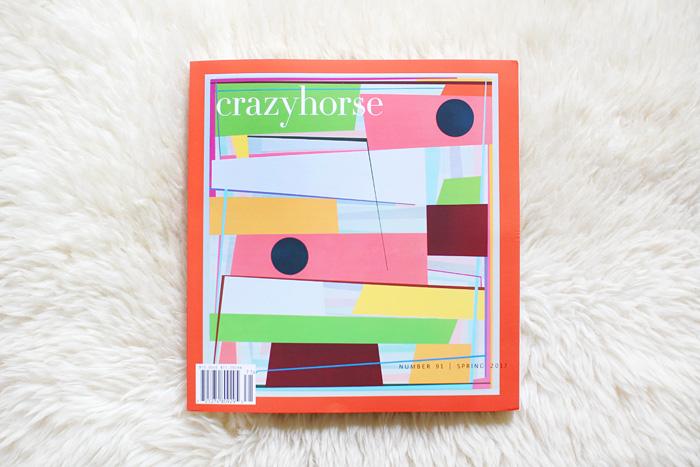 Crazyhorse Spring 2017 | elephantineblog.com