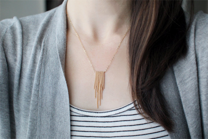 l'amour necklace | elephantine.etsy.com