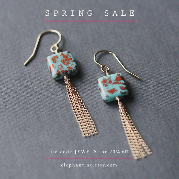 a spring sale | elephantine.etsy.com