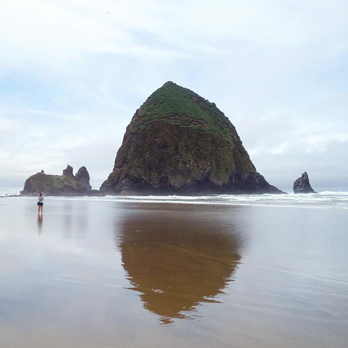 haystack rock, cannon beach | elephantineblog.com